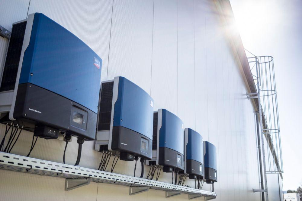 best commercial solar installation